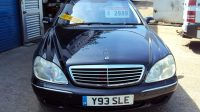 Mercedes W220 S500 Auto –5 Litre V8 302 BHP – Very Fast – LOW MILEAGE – Nice Clean example – £2,999