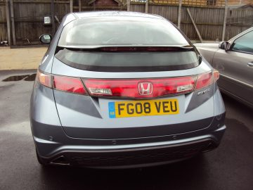 Honda Civic SE I-VTEC – With Full Leather Seats – Service History & With Warranty – £3,499