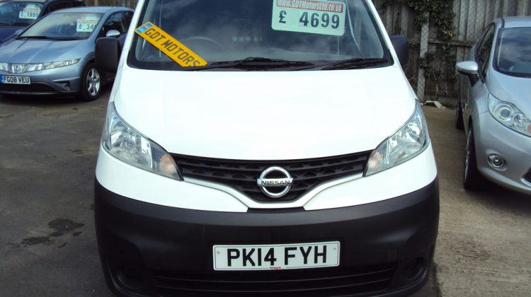 "Nissan NV200 Acenta DCI – 2014 Year ""14"" Plate- LOW MILEAGE – NICE CLEAN EXAMPLE – £4,699"