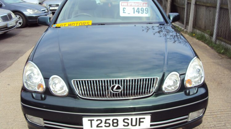 Lexus GS300 SE Auto – 2997cc Petrol – 24V Twin Cam VVTI – HIGH SPEC – £1,499