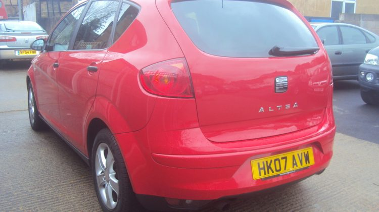 Seat Altea Reference SPORT – Extensive Service History – Long MOT – Must See – £2,499