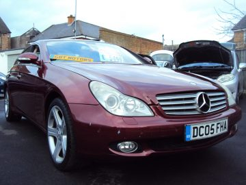 Mercedes CLS 500 Auto Coupe– W219/C219 – 306 BHP VERY FAST – Low Mileage -HIGH SPEC