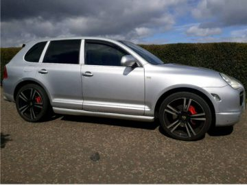 2003 PORSCHE CAYENNE TWIN TURBO 4.5 S TECHART 4×4