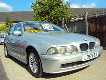 BMW 520i SE – E39 – 5 Series -OLD SKOOL, Future Classic – 2 Former Keepers – £1,499