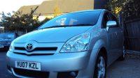 Toyota Corolla Verso TR VVT-I – 7 Seater – With MOT & Toyota Service History – £1,999