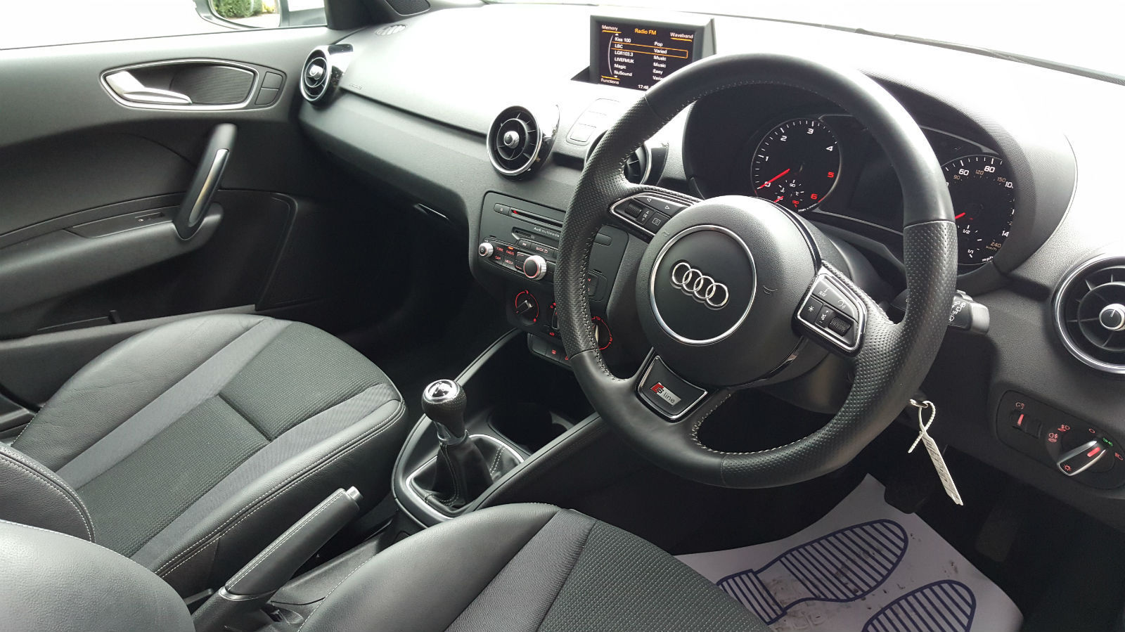2013 Audi A1 1 6tdi Sportback S Line 5 Door White Post My Car