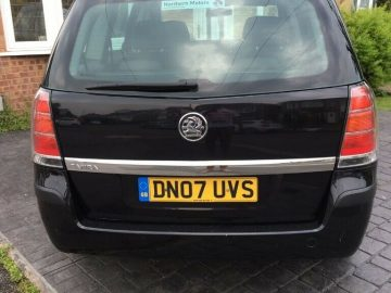 VAUXHALL ZAFIRA LIFE 2007 1.6 5dr for Sale