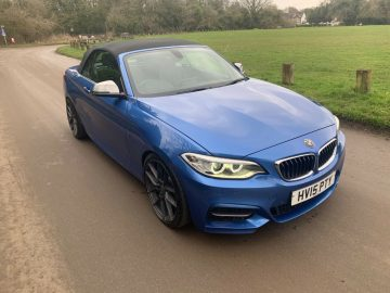 2015 Bmw M235i Convertible Automatic 2 Series
