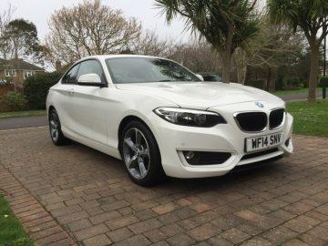 2014 BMW 220 SE COUPE 2.0D MANUAL