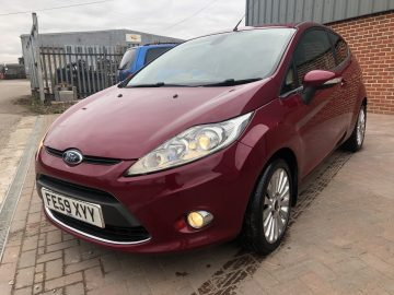 STUNNING FORD FIESTA 1.6 TDCI TITANUIM RED EDITION 57K FSH