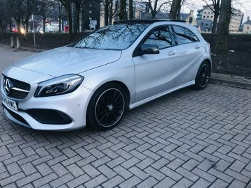 Mercedes A class AMG A200 1.6 petrol auto night package with panoramic roof