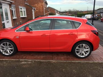 Vauxhall Astra 1.4i Turbo SRi 5dr – EXCELLENT CONDITION