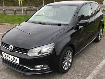 Volkswagen Polo SE BlueMotion 1.4 Diesel Black