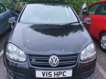 VW Golf GT TDi 140 bhp sport 5 door