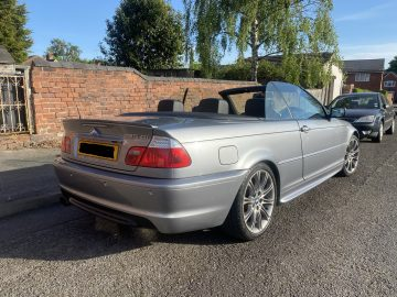 BMW, 3 SERIES, Convertible, Msport 2006, Manual, 1995 (cc), 2 doors