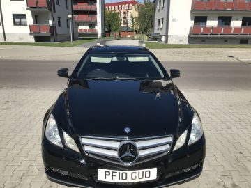 Mercedes Benz E350 CGI Blue EFFICIENCY Coupe, Diesel, 231 km Power