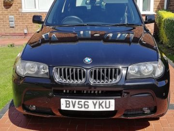 BMW X3 M Sport 2.0 Ltr Diesel 5 Door 4×4 SUV Full Leather 4WD Manual 6 Speed FSH