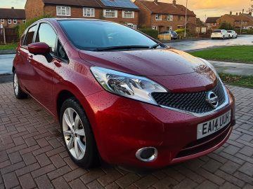 Nissan Note Tekna 1.2 Auto LOW 19K MILES – IMMACULATE