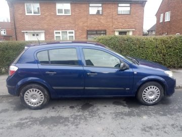 Vauxhall, ASTRA, Hatchback, 2005, Manual, 1364 (cc), 5 doors